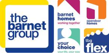 The Barnet Group - TBG Flex  logo