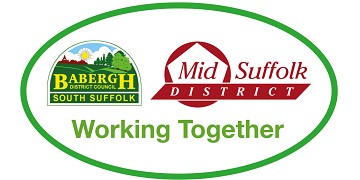 Babergh & Mid Suffolk District Councils logo