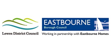 Lewes District Council & Eastbourne Borough Council logo